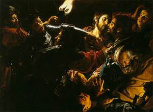 Gerard Douffet, L'arrestation du Christ, 1620