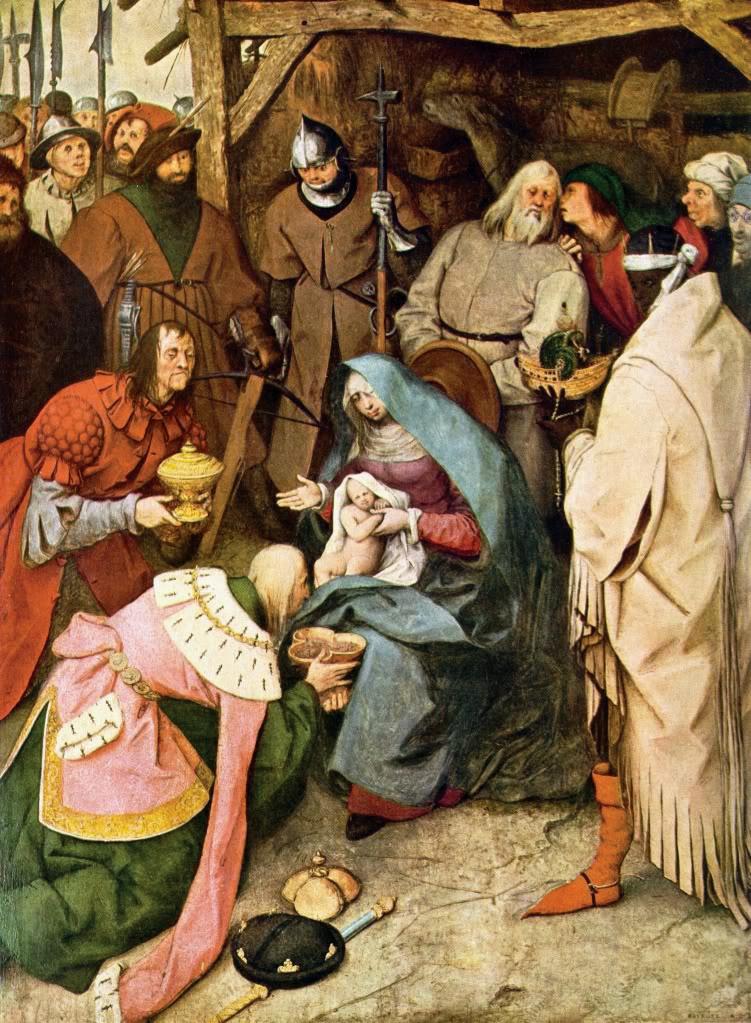 Pieter Brueghel l'Ancien, l'adoration des mages, 1564