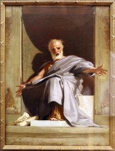 Nicolo Barabino, le prophète Isaïe, XIXe