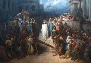 Le Christ quittant le prétoire, Gustave Doré (1867-72)