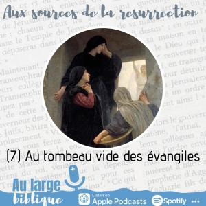 Read more about the article Aux sources de la Résurrection (7) Au tombeau vide des évangiles