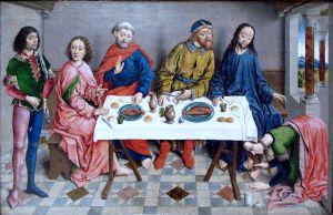 Albrecht Bouts, Jésus chez Simon le Pharisien, XVIe