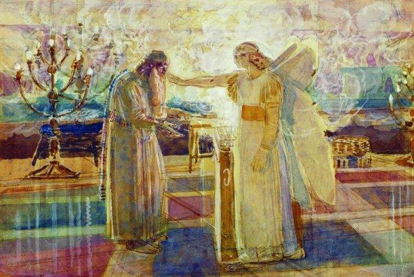 Read more about the article Au Temple, l'annonce à Zacharie (Lc 1,5-25)