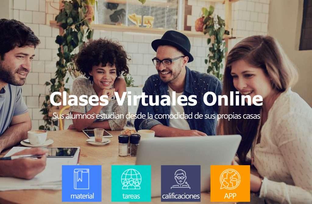 aula virtual campus virtual plataforma educativa