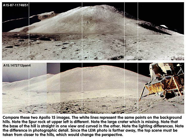 Fotografie NASA fotomontaggio