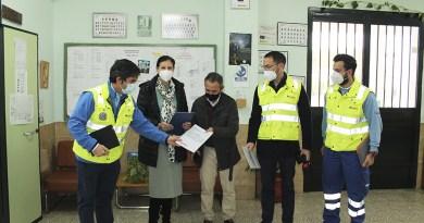 Protocolos Covid del SAMU en Gelves