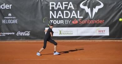 Rafa Nadal tour by Santander