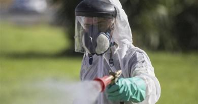Fumigación del Mosquito del Nilo en Coria