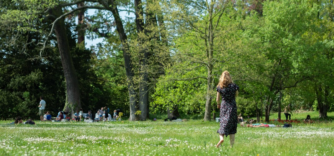 Profiter du printemps à Paris dans les Jardins de Bagatelle ©aunomi