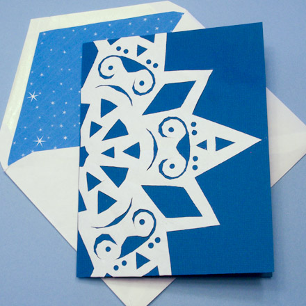 Symmetry In Snowflakes Geometric Toys To Make Aunt
