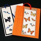 Example bookmark cards