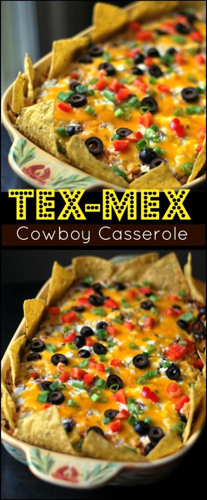 Tex Mex Cowboy Casserole Aunt Bee S Recipes