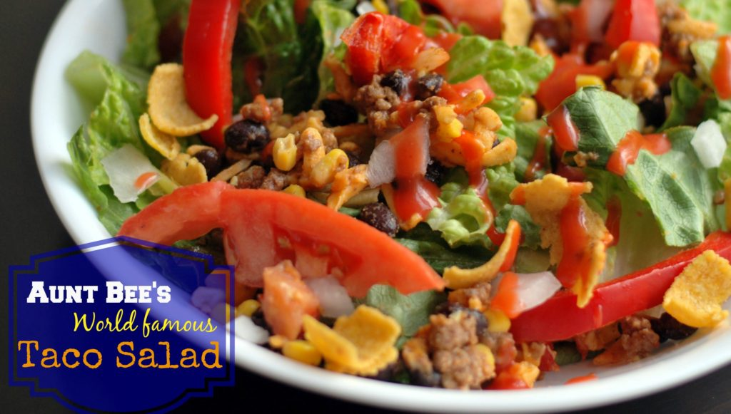 World Famous Taco Salad | Aunt Bee's Recipes