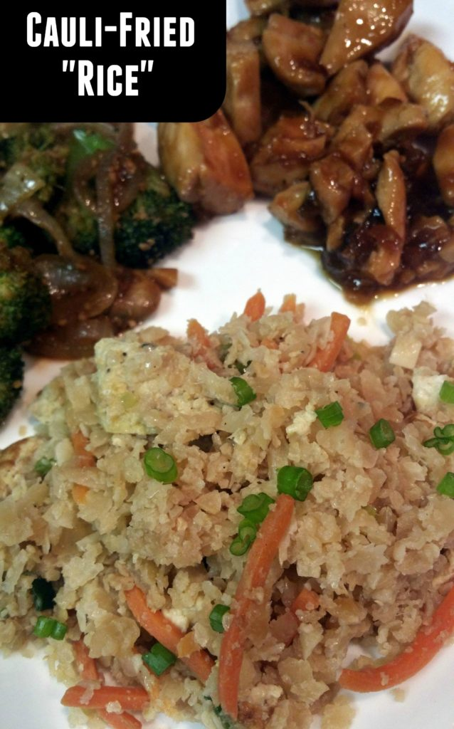 Cauli-Fried Rice | Aunt Bee's Recipes