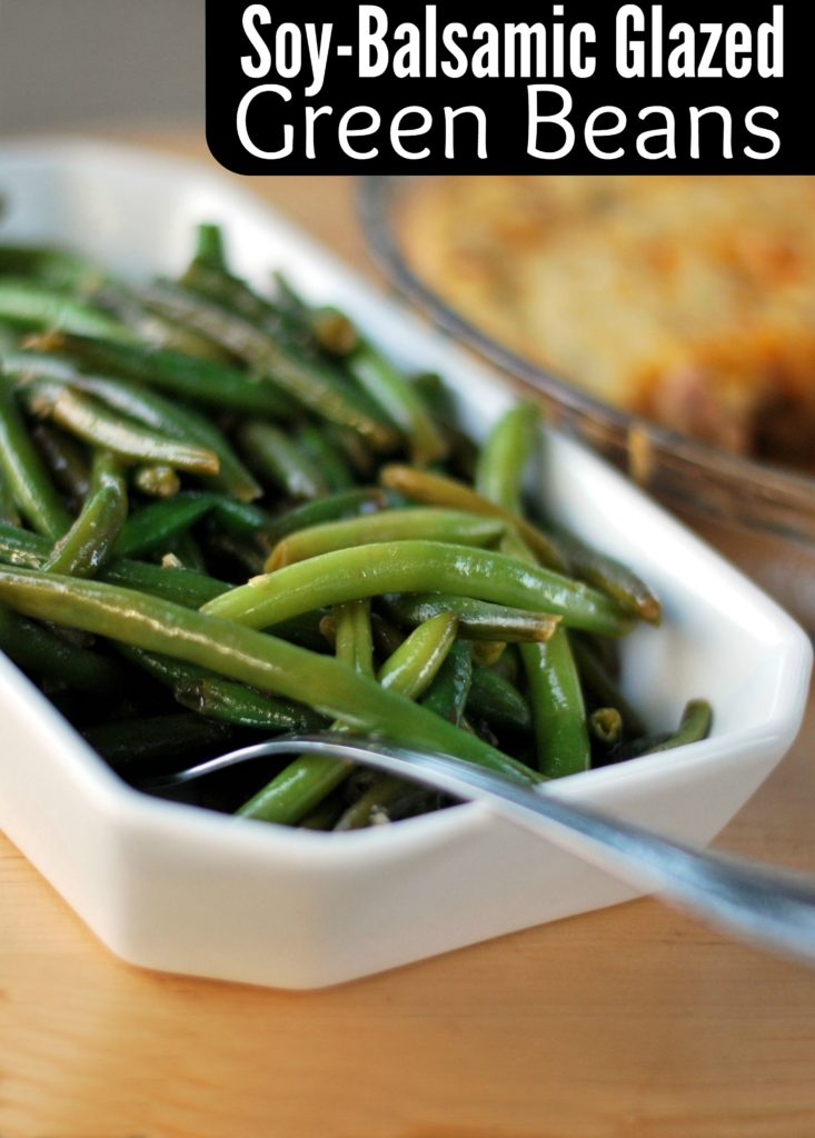 Soy-Balsamic Glazed Green Beans | Aunt Bee's Recipes