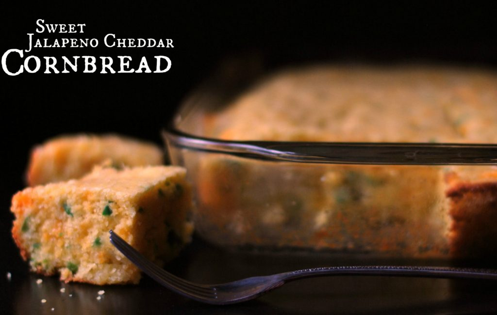 Sweet Jalapeno Cheddar Cornbread | Aunt Bee's Recipes