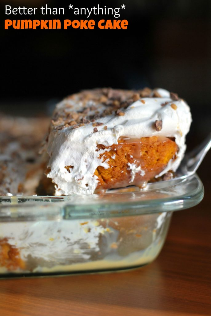 Better than anything... Pumpkin Poke Cake | Aunt Bee's Recipes