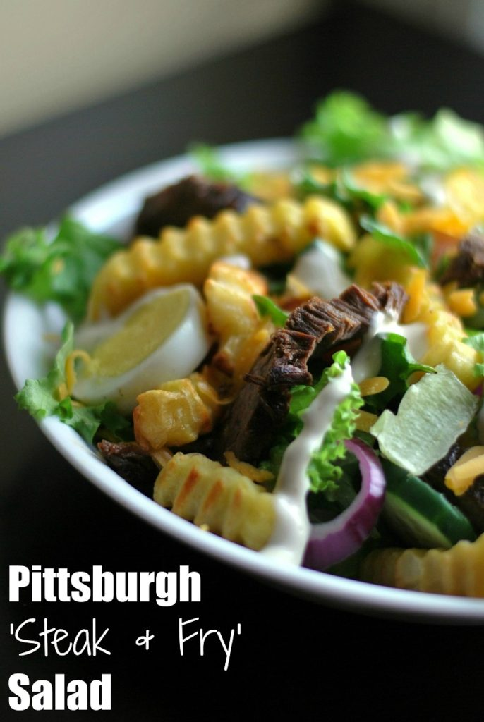 Pittsburgh 'Steak & Fry' Salad | Aunt Bee's Recipes