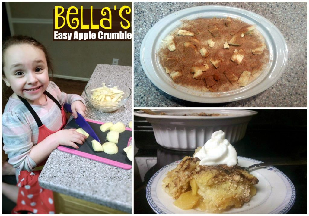 Bella's Easy Apple Crumble | Aunt Bee's Recipes