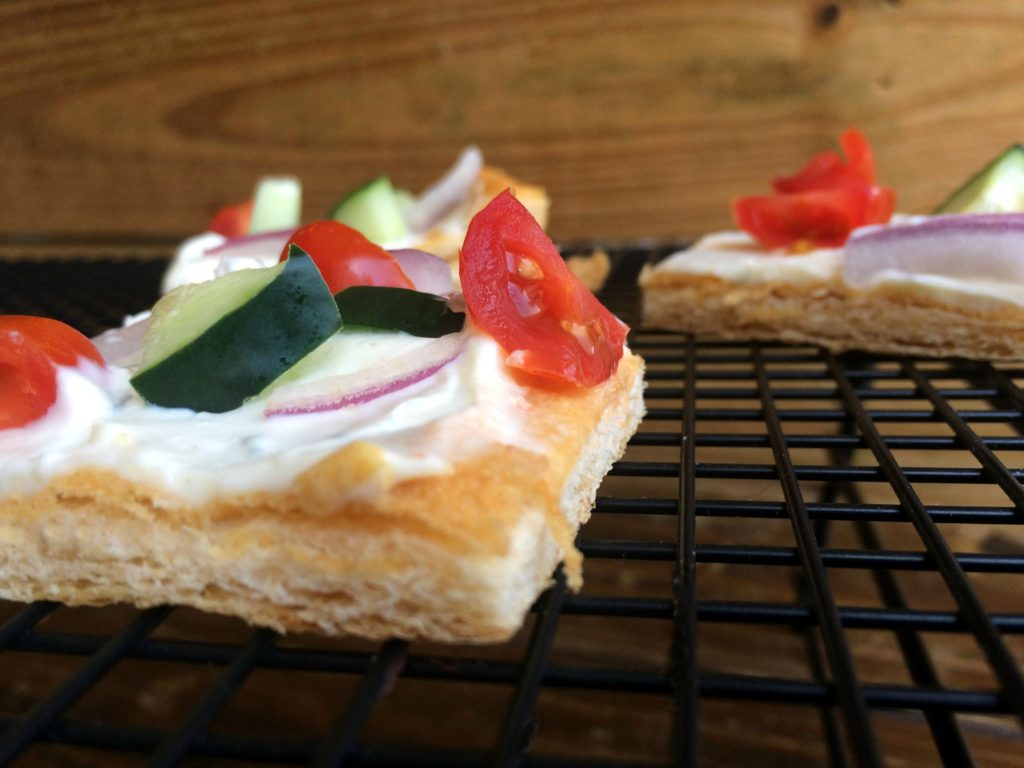 Creamy Veggie Squares | Aunt Bee's Recipes