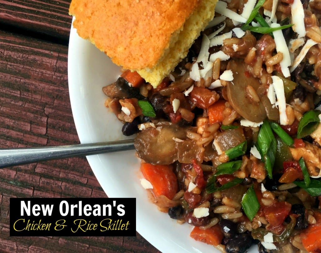 New Orleans Chicken & Rice Skillet