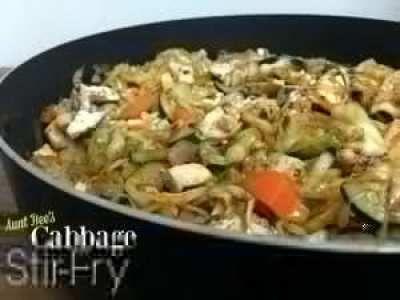 Cabbage Stir-Fry | Aunt Bee's Recipes