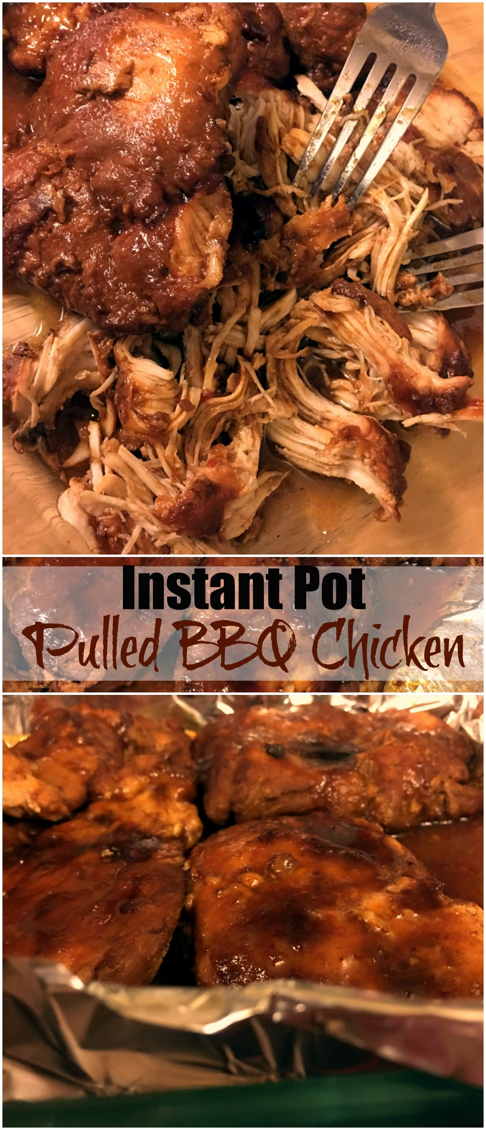 Instant Pot Pulled Bbq Chicken Aunt Bee S Recipes