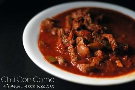 Chili Con Carne facebook edit