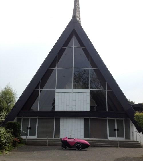 Penelope at Hinsbeck Evangelische Kirche