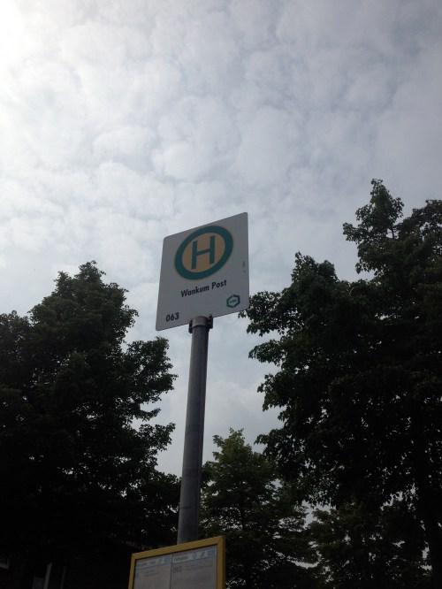Bus stop near Wachtendonk
