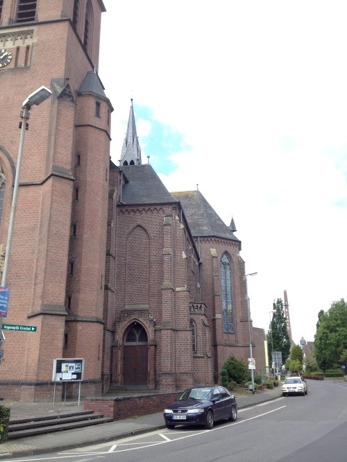 Church and Chimney