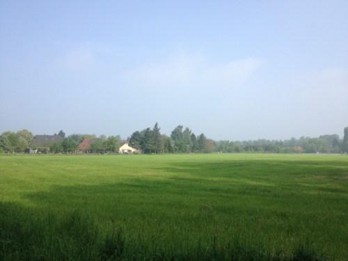 Morning view of Escheln