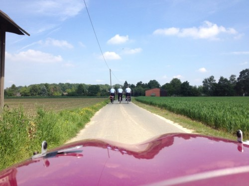 Our police escort