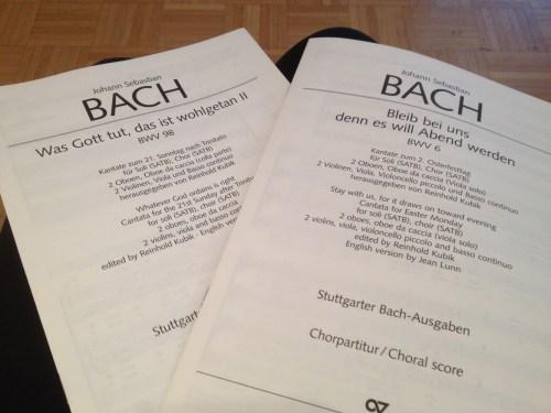 Bach Chorale music