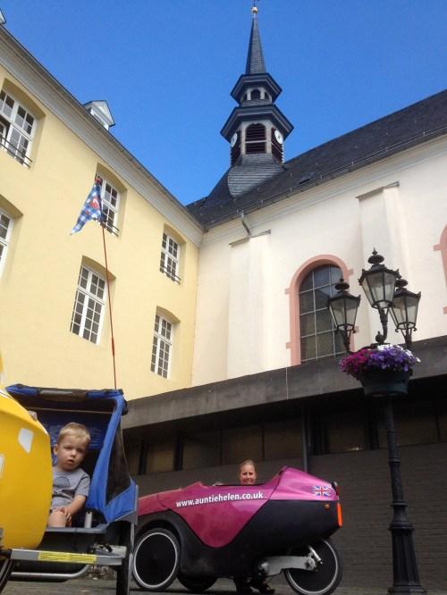 Max and Helen at Brueggen Church