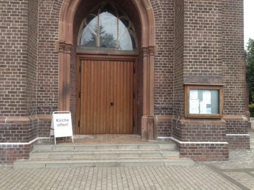 St Peter Boisheim Kirche Offen