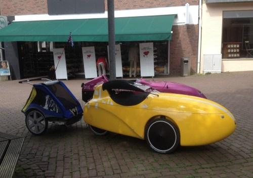 Weird bikes in Brueggen