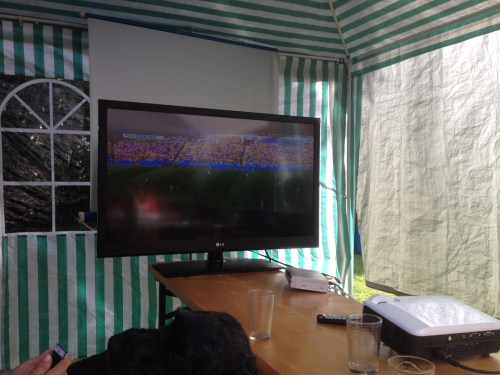 Outdoor Football Viewing 2