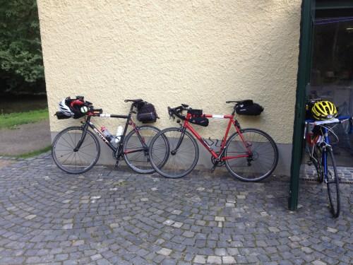 Bikes outside control