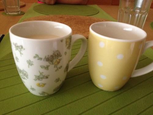 Tea blind taste testing