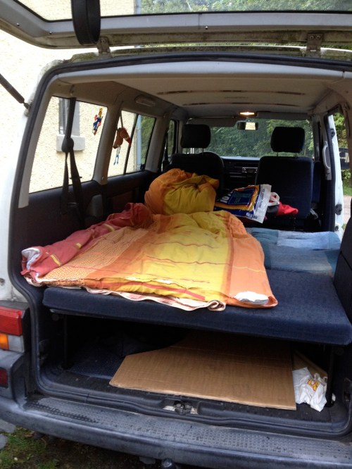 VW Bus Bed