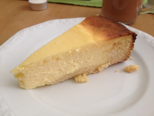 Claudia's cheesecake
