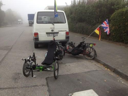 Trikes in Aachen