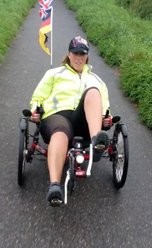 Helen cycling
