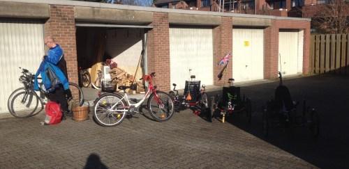 3 trikes two bikes
