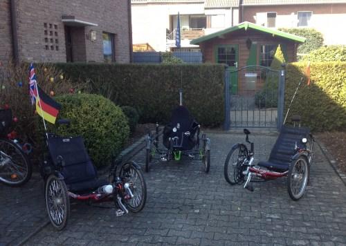 Trikes ready to ride