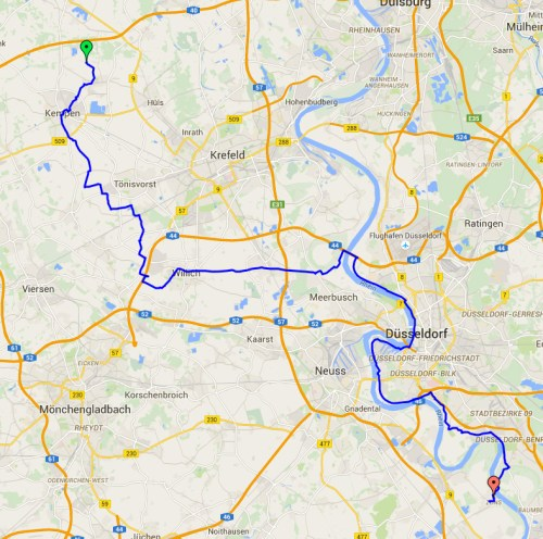 20 May Kempen to Zons map
