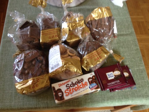 Chocolate supplies