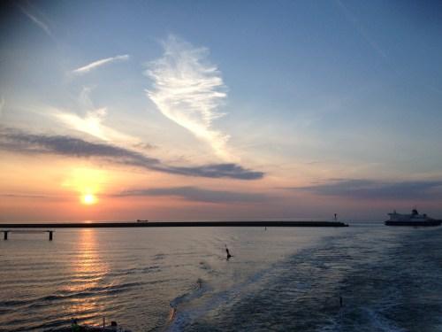Arriving Dunkirk