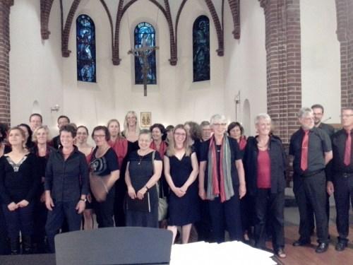 Choir at the end